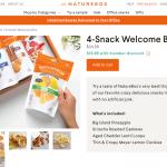お菓子宅配サービス、Natureboxを使ってみたレビュー(友達紹介で初回20ドル引き)